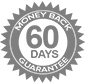 60 days moneyback guarantee